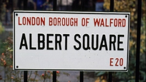 EastEnders was one of my first introductions to workaday Britain. I used to dream of living in Walford. I also wanted to be a rubbish collector. Kids are silly.