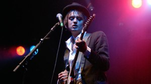 Pete Doherty is one of the most poetic songwriters of this century. And he paints with his own blood, too.