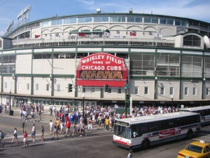 "Wrigley Field opened in 1916 and has served as home of the ""lovable losers"" of Major League Baseball, the Chicago Cubs, ever since. Affectionately known to fans and enthusiasts as ""the friendly confines,"" it is one of the last bastions of pure Americana."