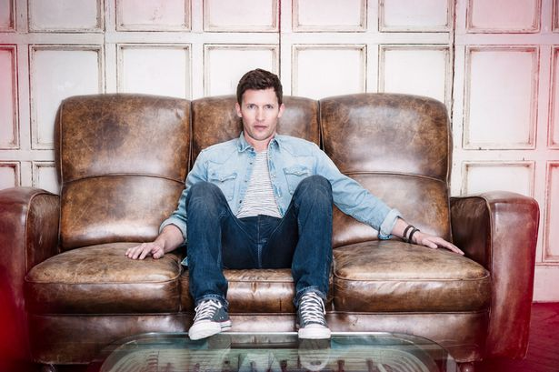James Blunt; photo credit: The Mirror