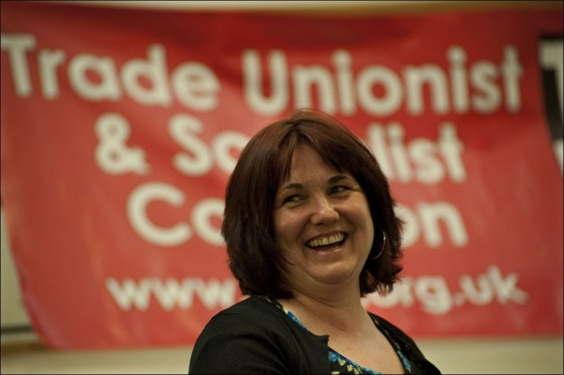 Nancy Taaffe. Image: The Socialist Party